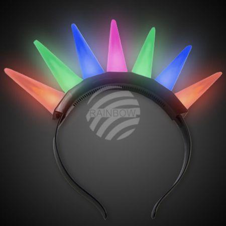 LH-do LED Leuchthaarreifen multicolor Motiv: Leuchtdornen