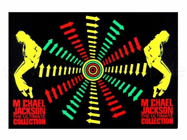 Shirt-21 EL Folie  schwarz Motiv:  Michael Jackson