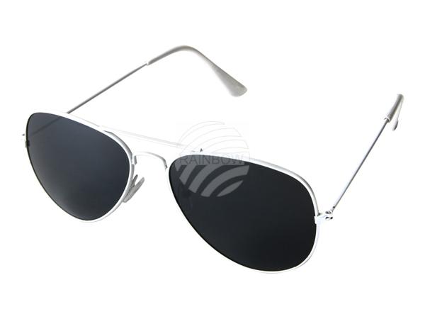 V-705e VIPER Damen und Herren Sonnenbrille Form: Pilotenbrille Farbe: weiß