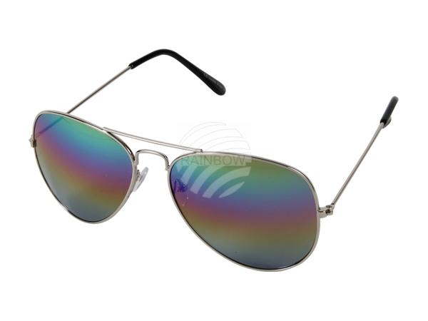 V-705d VIPER Damen und Herren Sonnenbrille Form: Pilotenbrille Farbe: silber