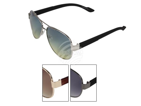 V-1338a VIPER Damen und Herren Sonnenbrille Pilotenbrille Bügel im Flecken Design