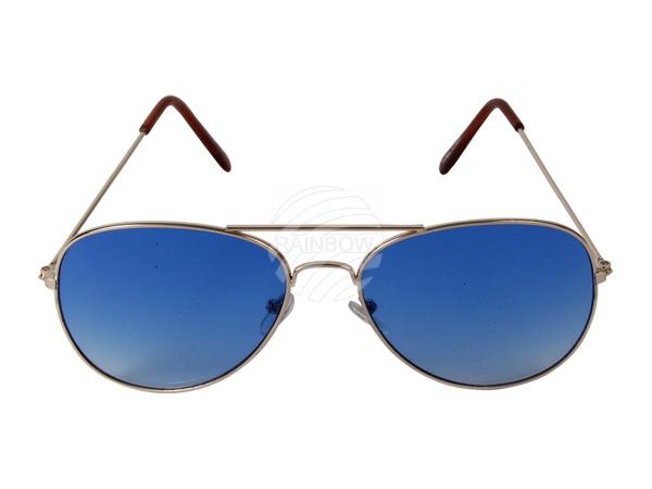 V-705f VIPER Damen und Herren Sonnenbrille Form: Pilotenbrille Farbe: gold