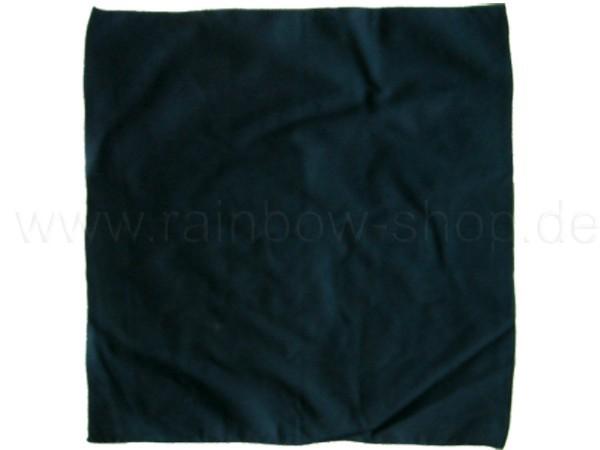 BA-126 Bandana Kopftuch Halstuch Design: unifarben Farbe: schwarz