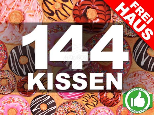 PACK-055 Starter Paket 144 Stück Donut Kissen sortiert