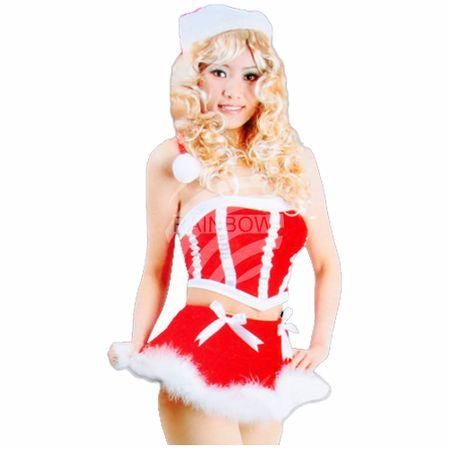 WK-103 sexy Weihnachtskostüme für Frauen