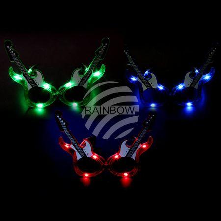 LB-G LED Leuchtbrille sortiert Motiv:  Gitarre