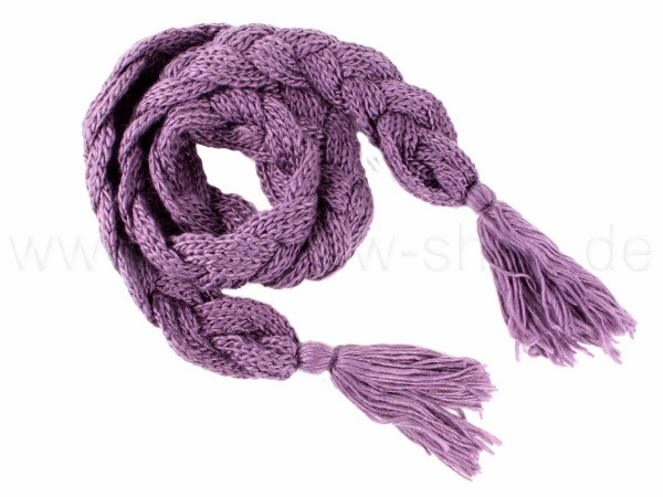 SCH-31lila Damen Schal unifarben lila