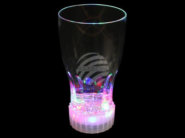 LG-02 LED Trinkglas transparent Motiv:  Colaglas